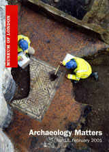 Archaeology Matters No 13
