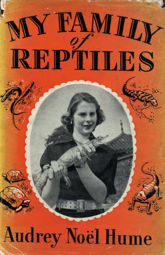 Audrey Baines My family of reptiles publication