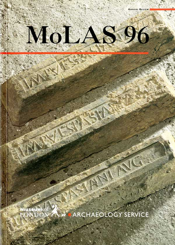 Roman lead ingots MOLAS Annual Review 1996