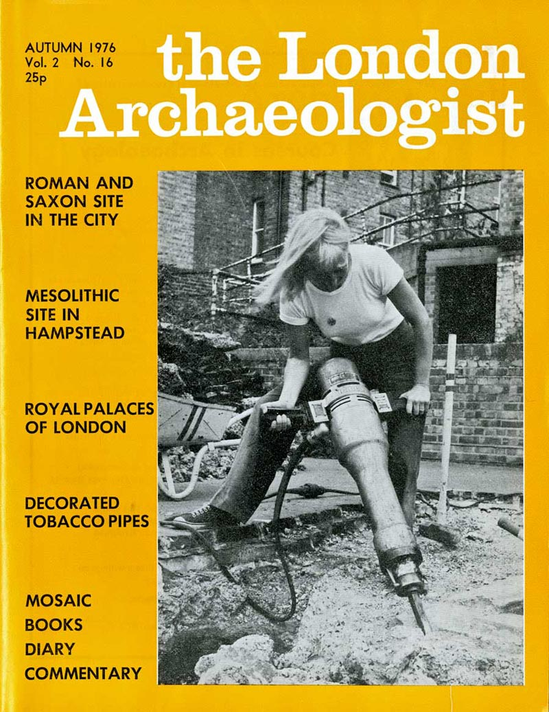 London Archaeologist front page Autumn 1976