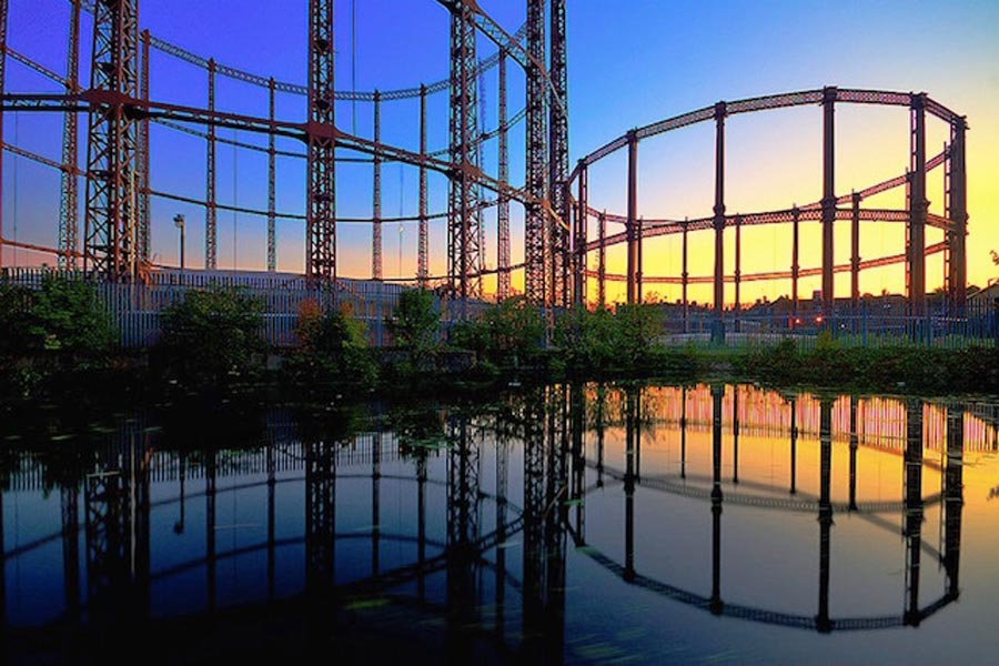 Bethnal Green gasholders